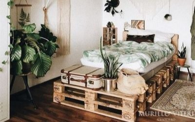 Decoration ideas with recycled pallets